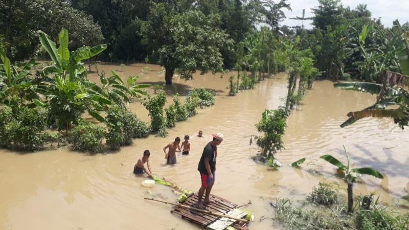 Semakin Meluas, LPBINU Lumajang Turut Serta Tangani Banjir Jombang
